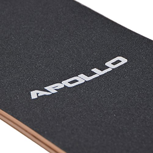 Apollo Longboard Vanua Flex III Special Edition Komplettboard mit High Speed ABEC Kugellagern inkl. Skate T-Tool, Drop Through Freeride Skaten Cruiser Boards -