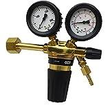 Druckminderer GCE Rhöna Argon / CO2 - 200 Bar 0 - 24 l/min - DIN EN ISO 2503 ...