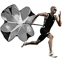 Naisidier - Paracaídas de resistencia para fútbol, atletismo, entrenamiento de velocidad o resistencia