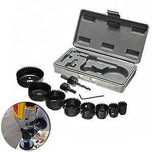 Lochsägen-Set im Koffer 19-64mm