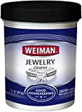 Weiman Jewelry Cleaner Liquid - Restores Shine and Brilliance to Gold, Diamond, Platinum