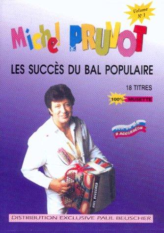 Partition : Les succes du bal populaire volume, 1 M Pruvot