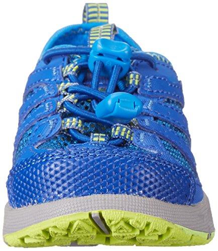 Columbia YOUTH DRAINMAKER III, Chaussures de sport aquatiques garçon Bleu - Blau (Hyper Blue, Fission 431)