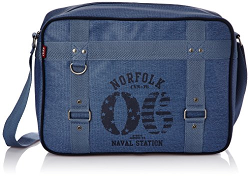 IKKS Sac bandoulière Norfolk 2014 Reporter Simple Bleu Bleu (BLEU) I3NOR-REP1-B1