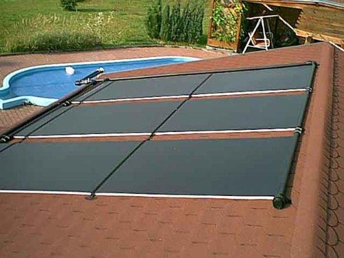 Akylux Solarkollektoren 3000 x 1200 mm Solar Schwimmbad Kollektoren, Solarheizungen im direkten Kreislauf, die umweltbewusste Entscheidung für mehr Komfort und Badespaß