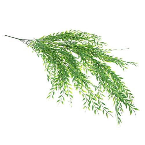 D DOLITY Künstliche Weide Girlande Rebe Blumengirlande Hängepflanzen Balkon Ornament Hochzeitsdeko - D