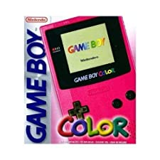 Game Boy Color rouge diablotin