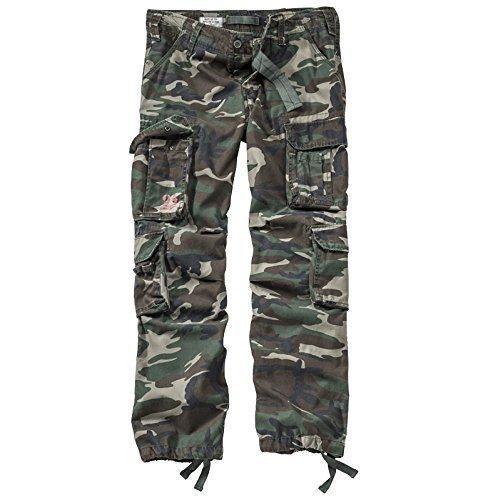 surplus-pantaloni-cargo-uomo-multicolore-woodland-s