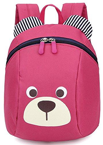 Imagen de  infantil niña guarderia arnés anti pérdida correa extraíble bebe niña barata bolso rosa 1 3año  alternativa