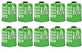 10 x Optimus Ventil-Gaskartuschen Füllmenge 440g