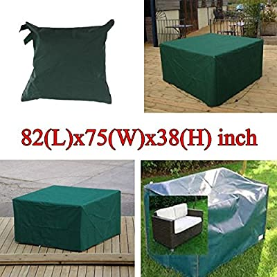 Bluelover 210x193x97cm Garden Outdoor Furniture Waterproof Breathable Dust Cover Table Shelter by Bluelover