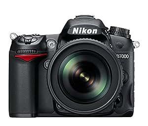 Nikon D7000 16.2 MP Digital SLR Camera (Black) with AF-S 18-140mm VR II Kit Lens and Card, Camera Bag