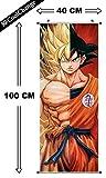 CoolChange Kakemono / Poster de la serie Dragon Ball, tema: Super Saiyajin