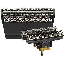 Braun 31B - Recambio para afeitadora eléctrica, compatible con afeitadoras Series 3, color negro
