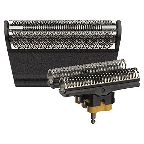 Braun 360 3 Series (Braun Elektrorasierer Ersatzscherteil 31B, kompatibel mit Series 3 Rasierern, schwarz)
