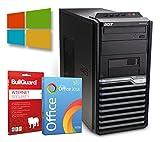 Office PC Computer Tower - Intel Core i3-2120 2X 3,3 GHz 8 GB DDR3 256 GB SSD - Windows 10 Professional 64 Bit + BullGuard Internet Security 2019 + SoftMaker Office 2018 - Standard