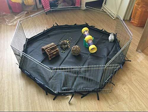 VivaPet - Parque para Animales con Paneles Laterales, Octogonal, para roedores y Cachorros, con 8 Paneles, pequeño, 86,36 cm