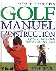 Golf manuel d instruction Le
