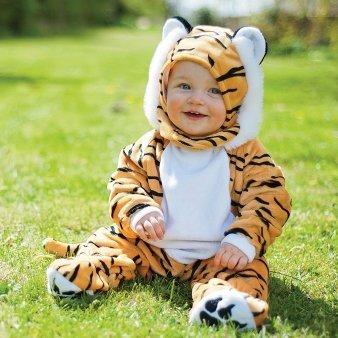 Tiger Babykostüm 3-6 Monate / 72cm