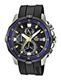 Casio Herren-Armbanduhr XL Edifice Analog Quarz Resin EFM-502-1AVEF