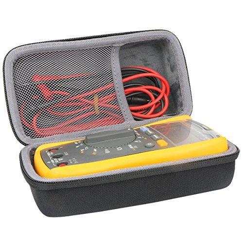 Hart Reise Schutz Hülle Etui Tasche für Fluke Multimeter 117 Digital Multimeter LCD von co2CREA