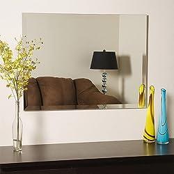 A&E Frameless Mirror,18 Inch X 24 Inch