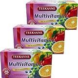 Teekanne Multivitamin (3 Packungen mit je 20 x 3g Teebeutel)