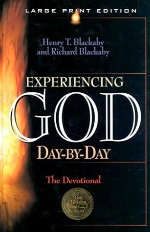 Experiencing God Day-By-Day: A Devotional (Walker Large Print Books) por Henry T. Blackaby