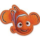 Walt Disney Findet Nemo (401963) Kinderkissen Kissen Plüschkissen,34 x 24 x 5 cm, orange
