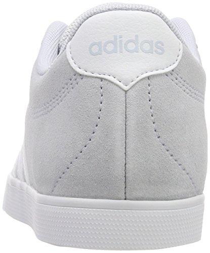 adidas Damen Courtset Fitnessschuhe Blau (Aero Blue S18/ftwr White)