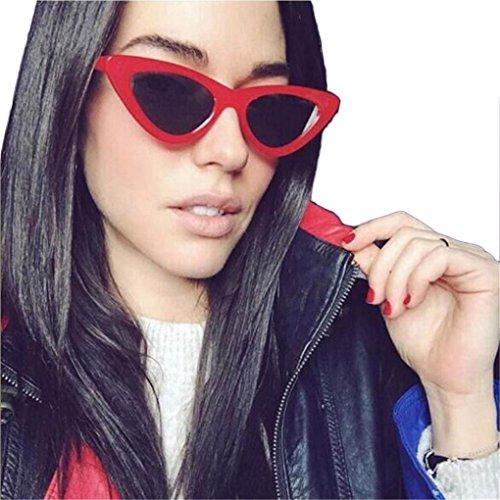 Sonnenbrille Damen Mode Unisex Shaded Objektiv Brille Mode Flieger Sonnenbrille, Bluelucon Herzform...
