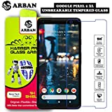 Arban Google Pixel 2 XL Front Unbreakable Tempered Not A Glass, Screen Guard,Trink,Grilla Glass Anti Fingerprint Tempered Guard for Google Pixel 2XL