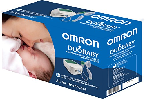 Omron DuoBaby Nasensauger mit Inhalationsgerät - 7