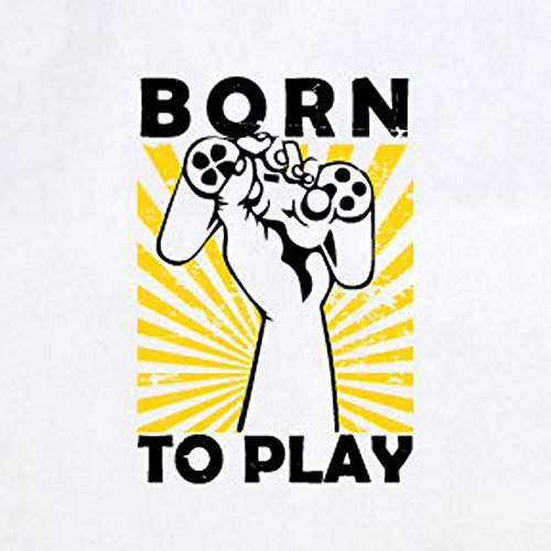Play Rot Beutel Stofftasche Born to 5waq1T1g