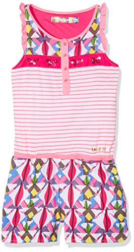 Desigual Pant_linxs, Combishort Fille, Rose (Fuchsia Rose 3022), 14 Ans (Taille Fabricant: 13/14)