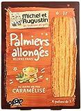 MICHEL ET AUGUSTIN - Biscuits Palmiers Allongés Sucre Caramélisé - Palmiers Allongés au Sucre Caramélisé - 120g Lot de 2...