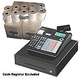 eposbits® marca rollos para que se ajuste a Casio SE-c2000sec2000seg se c C20002000caja registradora-40rollos