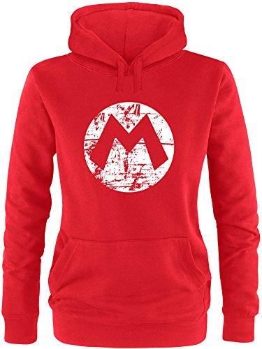 Super Mario Hoodie - EZYshirt® Mario Damen Hoodie | Damen