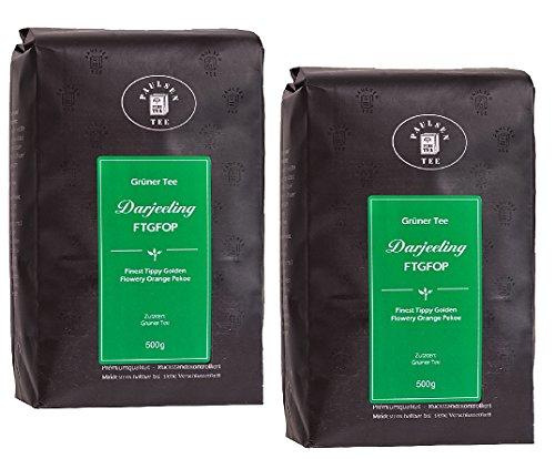 Paulsen Tee Grüner Tee Darjeeling FTGFOP (grün) 500g im 2er Pack