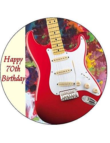 personalised-guitar-b-edible-icing-cake-topper-circle-45-114cm-please-use-the-send-as-a-gift-facilit