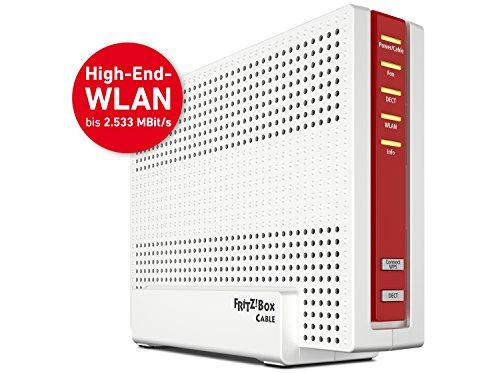 AVM FRITZ!Box 6590 Cable WLAN AC + N Router (DOCSIS-3.0-Kabelmodem, Dual-WLAN AC+N mit 1.733 Mbit/s (5 GHz) + 800 MBit/s (2,4 GHz), VoIP-Telefonanlage) - 5