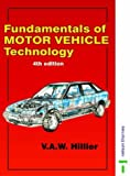 Fundamentals of Motor Vehicle Technology 4th (fourth) Revised Edition by Hillier, V. A. W., Pittuck, F.W. published by N