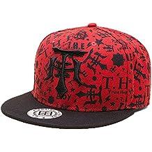 doublebulls hats Cappellini con Visiera Piatta Uomini Ragazzi Autunno  Inverno Berretto da Baseball Cappello di Hip 268a828071df