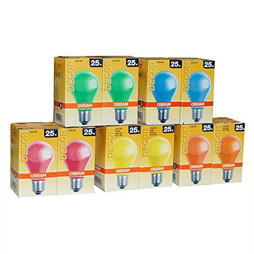 lot-de-10-osram-ampoule-ampoule-25-w-rouge-vert-jaune-bleu-orange-e27-25-w-ampoules-a-incandescence