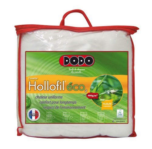 Dodo Hollofil Eco 2 Couette 220 x 240 cm Chaude Synthétique