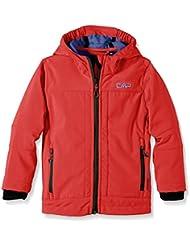 CMP - F.lli Campagnolo Softshelljacke - Soft shell para niño, color rojo (lacca-olimpico), talla 164 cm