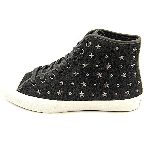 Coach Emerald Star Textile Sportliche Turnschuh Black/Black