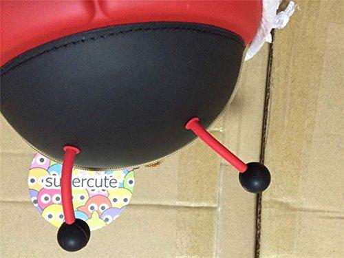 EVA impermeabile bambino zaino bambini zaini scuola borsa zaino bambini Toddler zaino cute 3D coccinella zaino Red