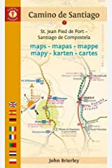 Camino De Santiago Maps Ninth Edition: St. Jean Pied de Port - Santiago de Compostela (Camino Guides) Paperback