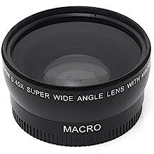 Goliton® 55mm 0.45X Gran Angular Lente Macro para Canon Nikon Sony Pentax Olympus Cámara
